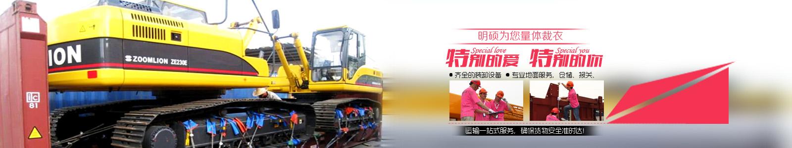 专业制定中国涉外工程项目物流解决方案
